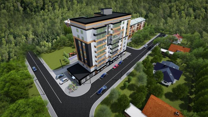 Будівництво у м. Крисилів, вул. Центральна 33