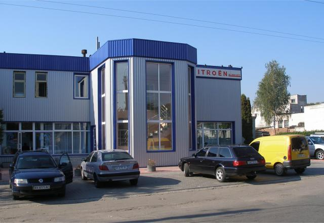 Реконструкция помещения для автосалона и офиса CITROEN г. Хмельницкий, ул.Киевская, 4 Проект реконструкции и строительные работы
