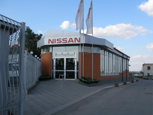 Реконструкция помещения для автосалона NISSAN г. Хмельницкий ул.Расковой 4а (проект реконструкции и строительные работы)