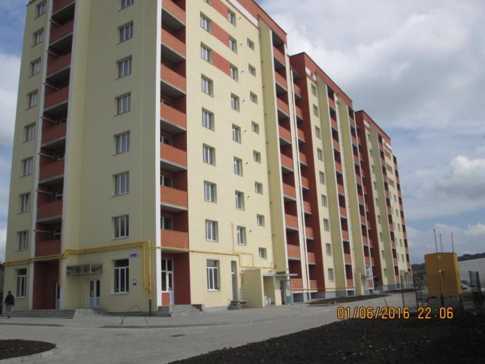 9 поверховий 123 квартирний житловий будинок, вул. Вінницька, 1/7 в м. Хмельницькому